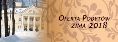 Oferta pobytów ZIMA 2018