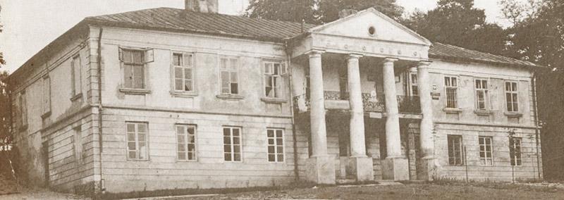 Historia Pałac Śmiłowice