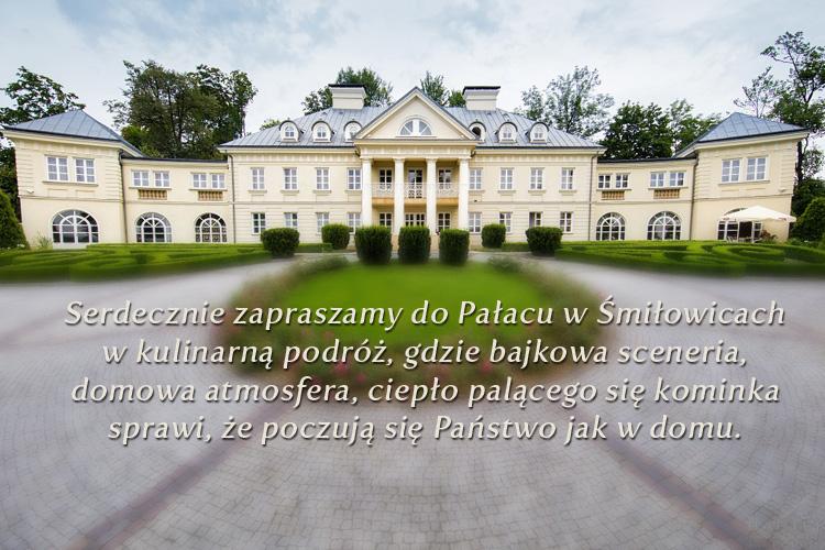Niedzielne obiady w Pałacu Śmiłowice - sprawdź ofertę